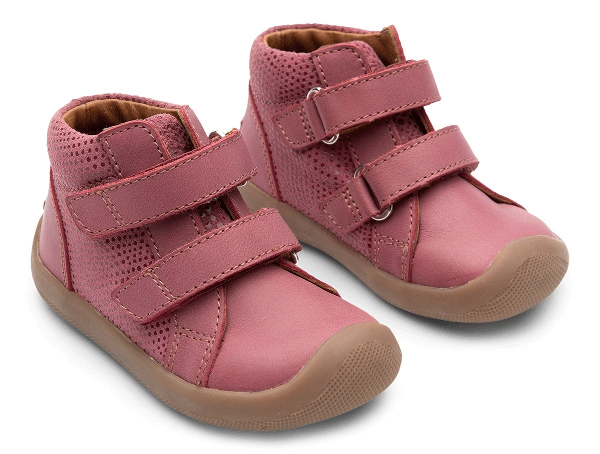 Bundgaard The Walk Velcro Pink Glitter