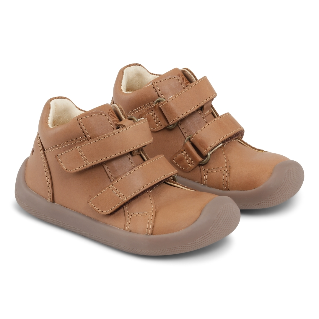 Bundgaard The Walk Velcro  Caramel