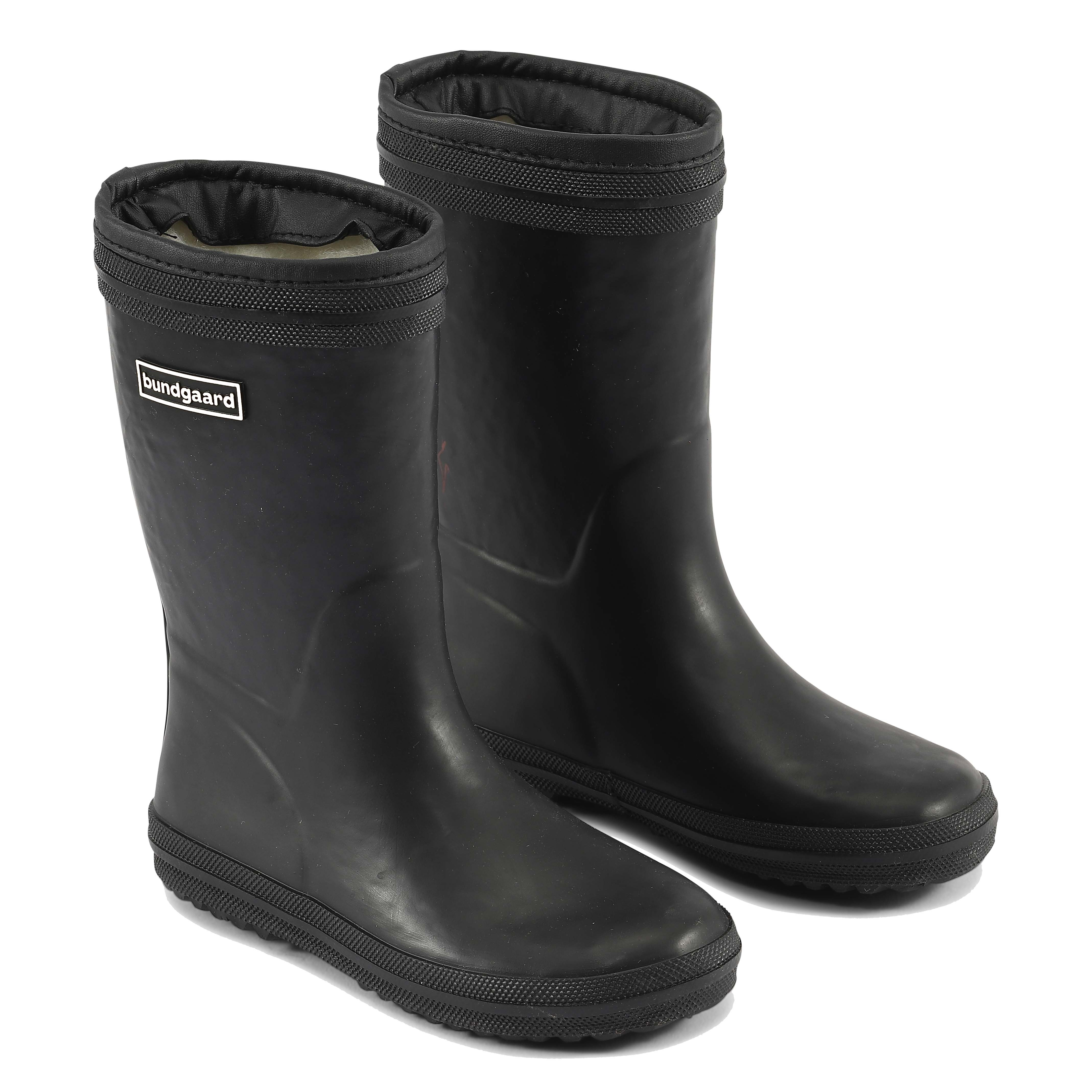 Bundgaard Rubber Boot Tween Warm Sort